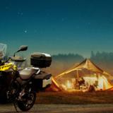Vストローム250がキャンプツーリングに最適な理由3つ!