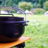 ダッチオーブンで作るキャンプ メニュー3選!