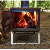 冬キャンプを快適に!キャンプ用薪ストーブの火の粉対策5選!