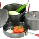 キャンプ用鍋でご飯を炊く!キャンプ用フライパン2選!
