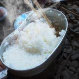米半分炊き方半分!キャンプ用鍋での上手なお米の炊き方!