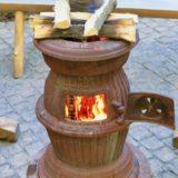傘立てで作る!キャンプ用薪ストーブの自作煙突ガード4選!