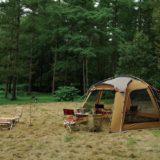 冬キャンプに必要なタープ!スクリーンタープ2選!