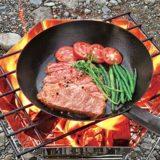 キャンプ料理に絶対に必要!キャンプ用鉄製フライパン3選!