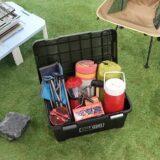使えるボックスが欲しい!キャンプ道具収納ボックス3選!