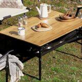 ガッツリ収納できる!テーブル下に収納可能なキャンプテーブル5選!